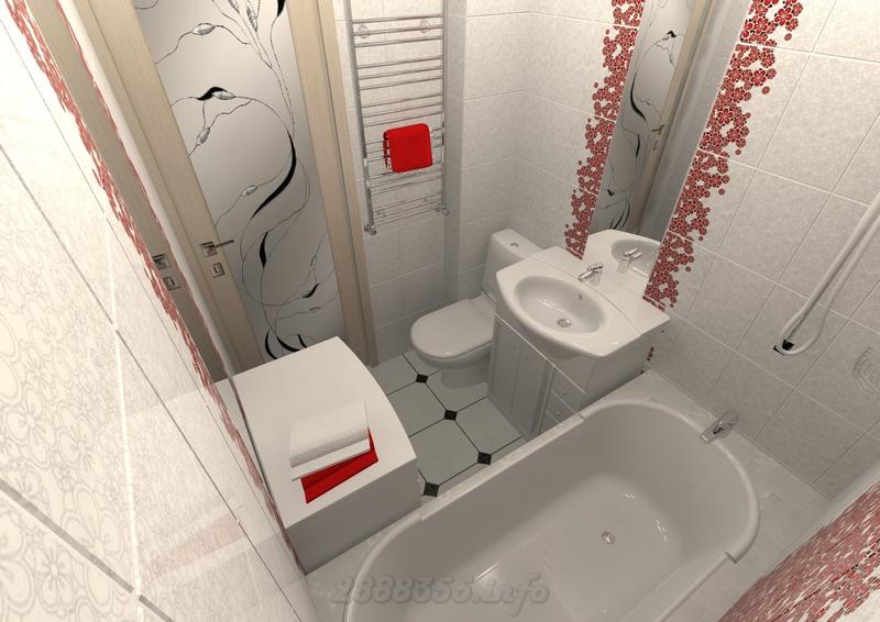 Ванная комната эконом класса фото